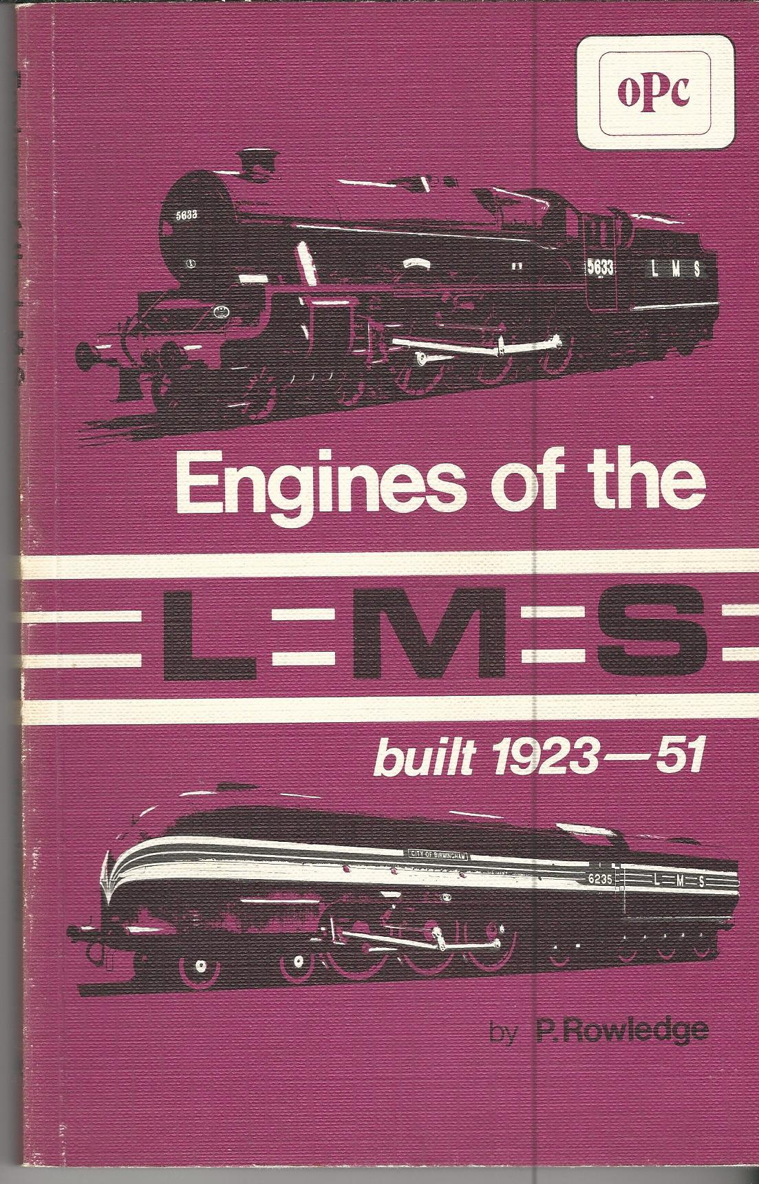 Image for Engines of the LMS built 1923-51.