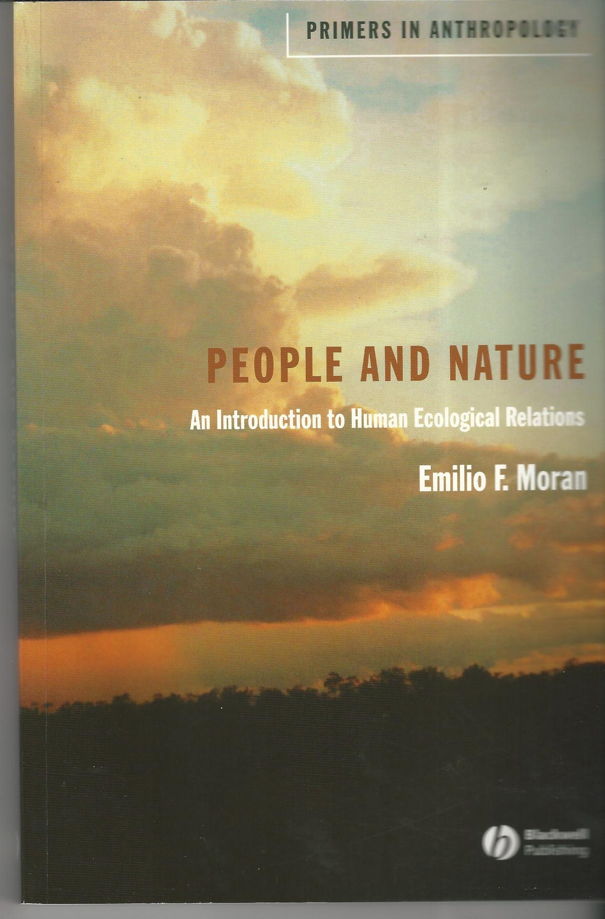 Image for People and Nature: An Introduction to Human Ecological Relations.