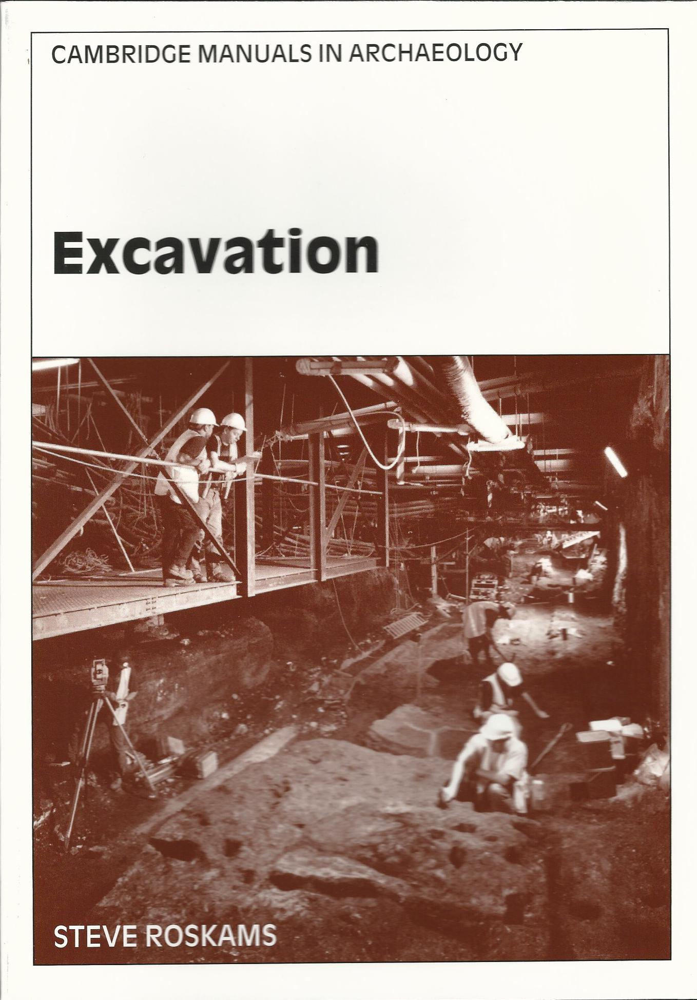 Image for Excavation (Cambridge Manuals in Archaeology)