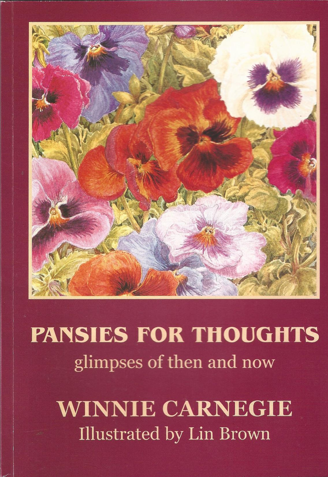 Image for Pansies for Thoughts: Glimpses of Then and Now.