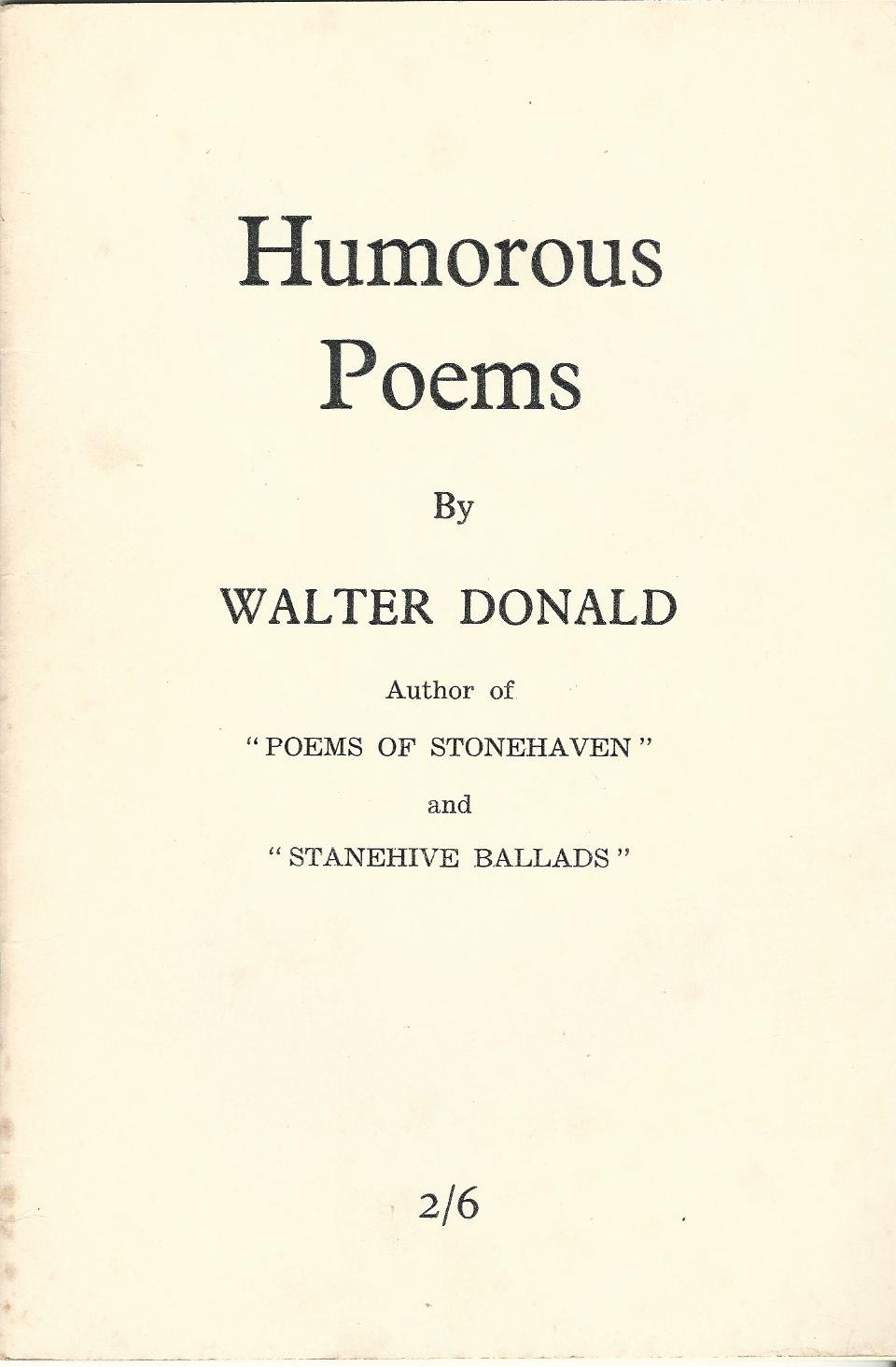 Image for Humorous Poems