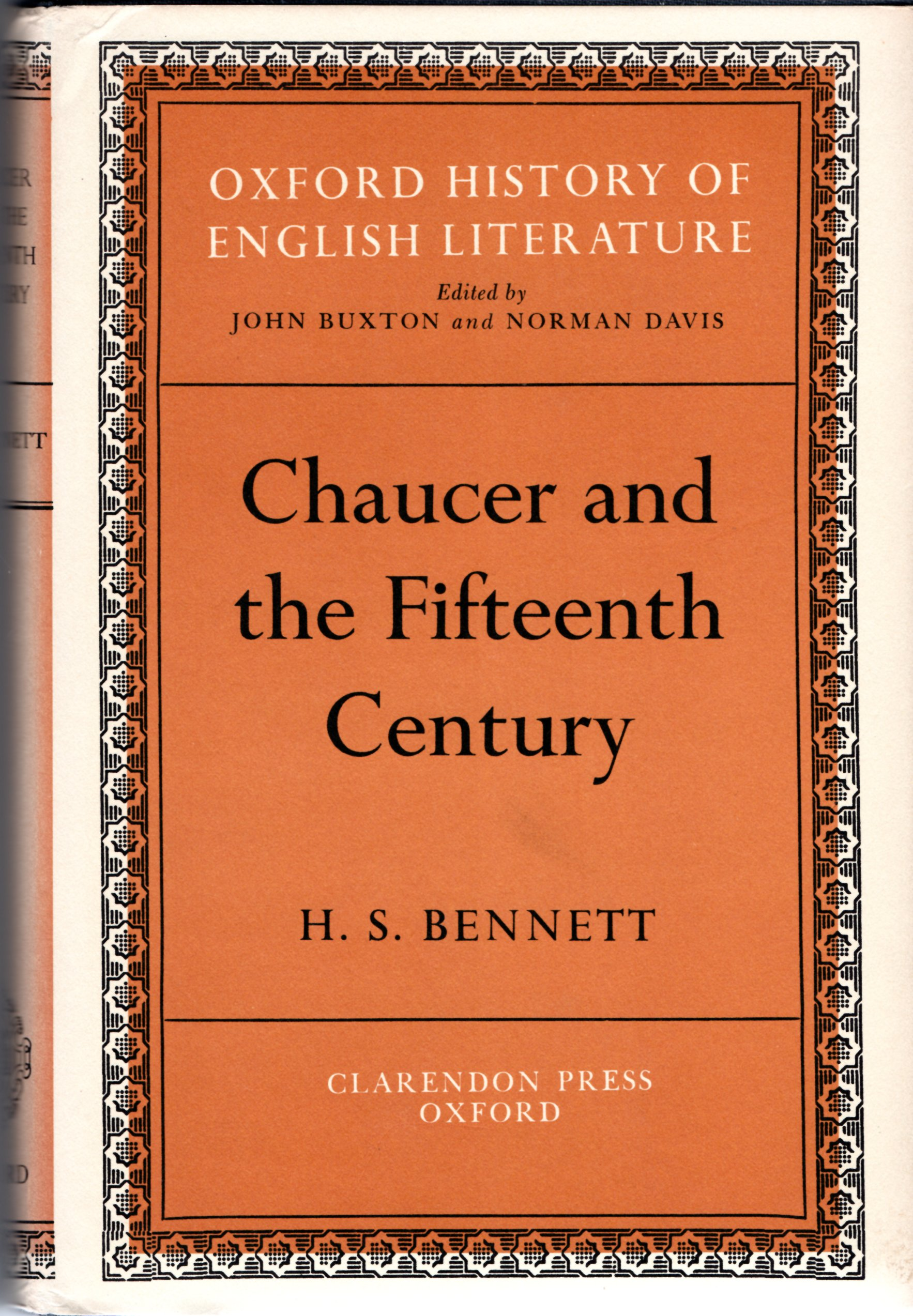 Image for Chaucer and the Fifteenth Century