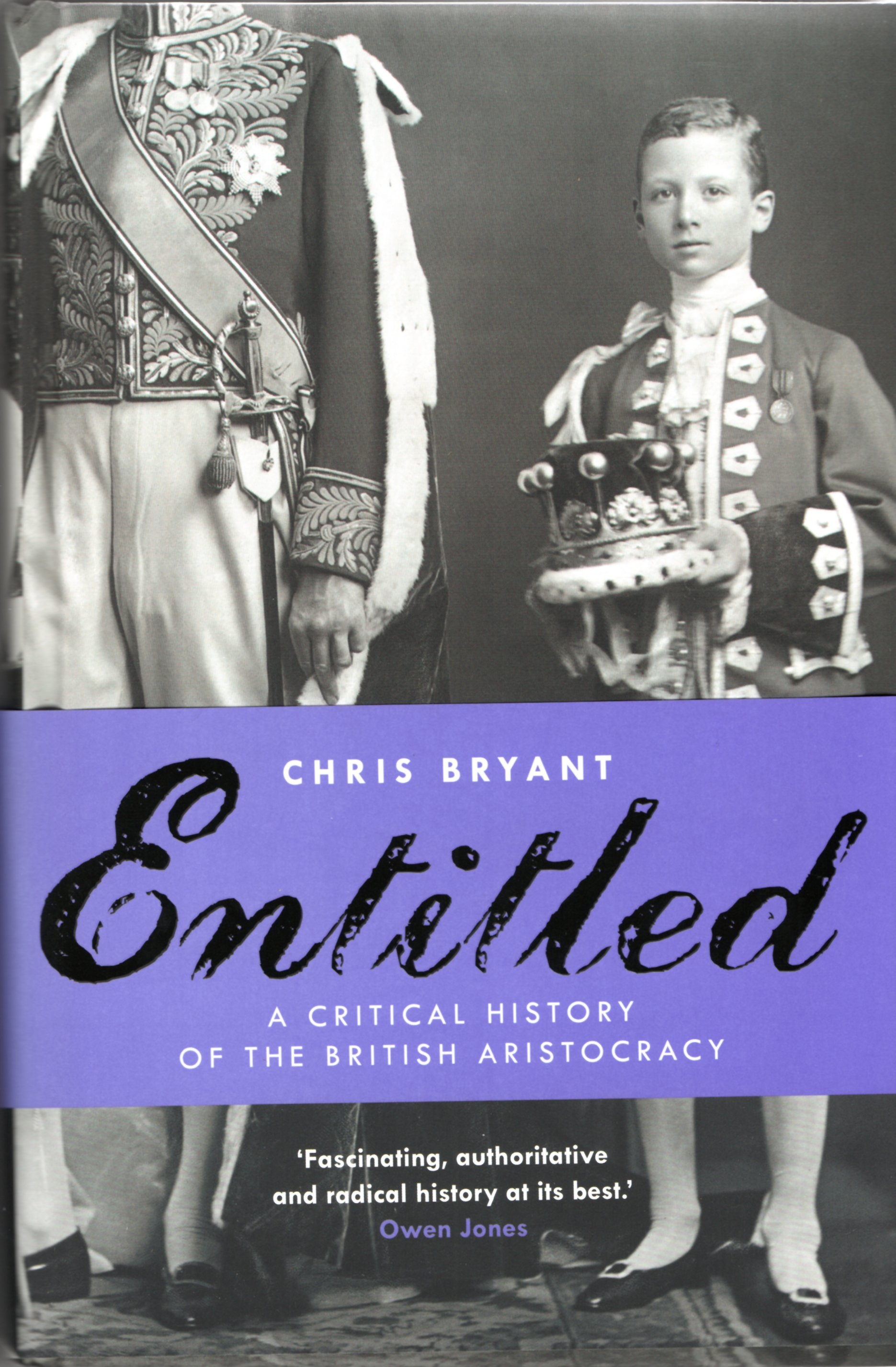 Image for Entitled: A Critical History of the British Aristocracy