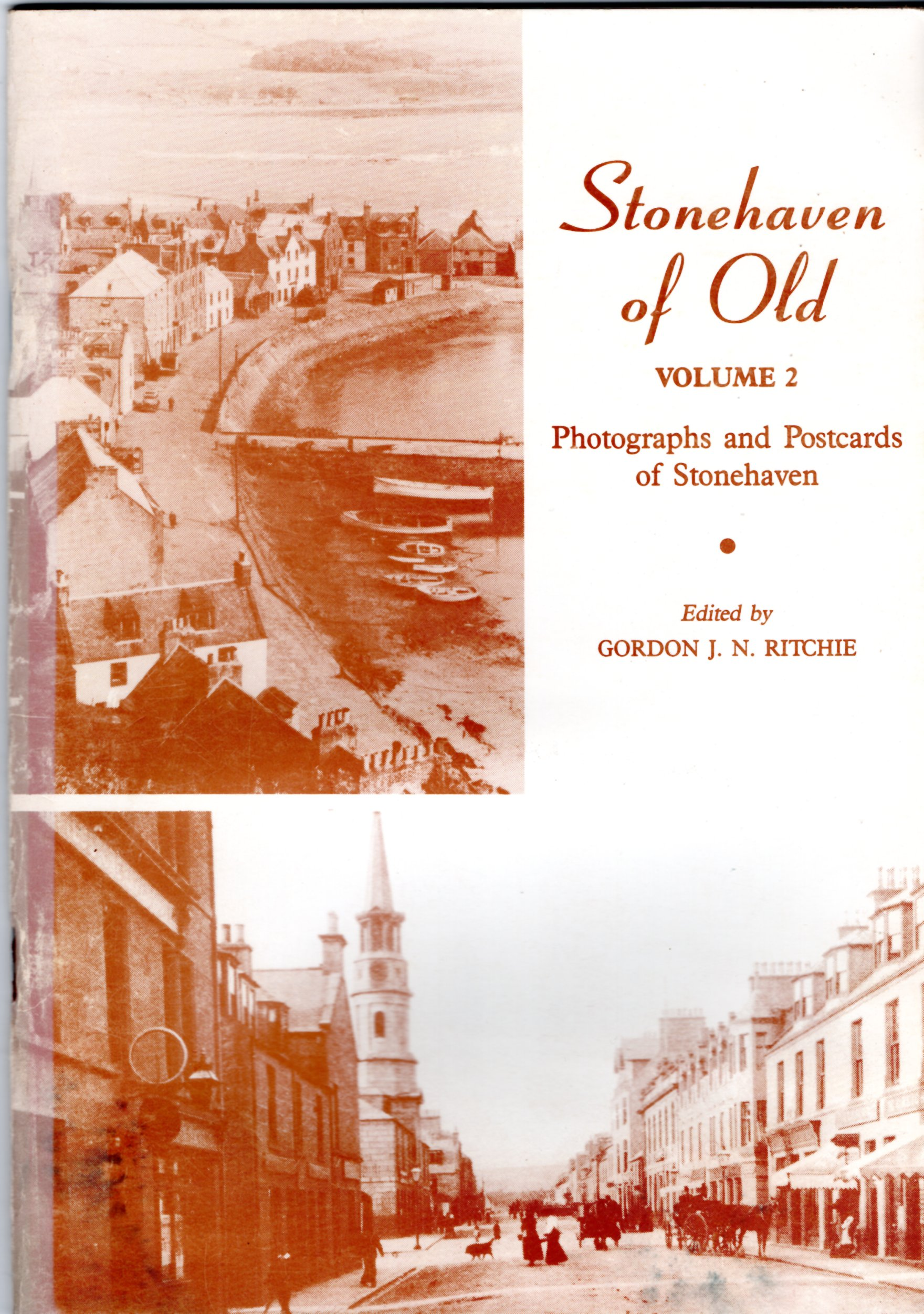 Image for Stonehaven of Old: Photographs and Postcards of Stonehaven.