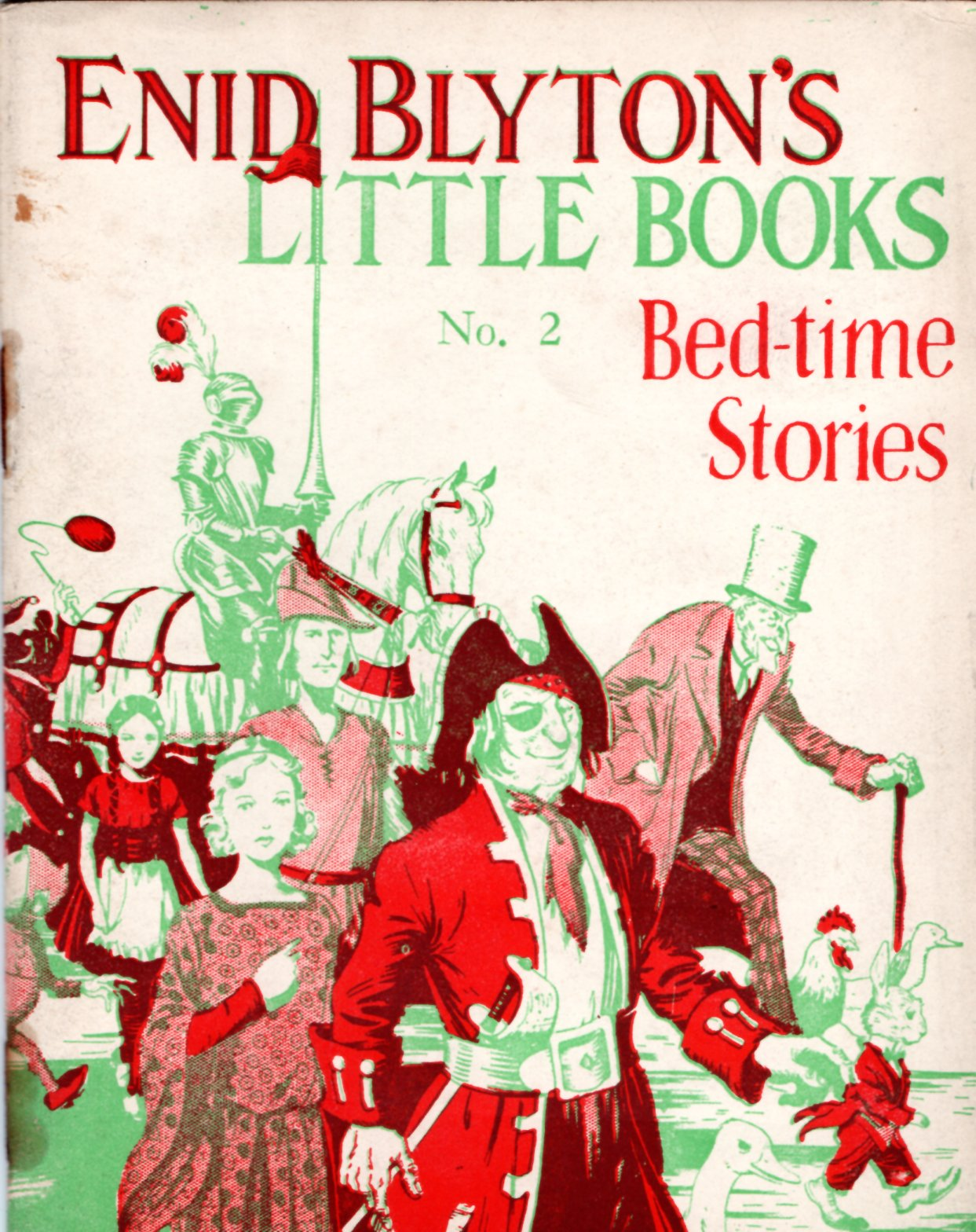 Image for Enid Blyton's Little Books No. 2: Bed-time Stories