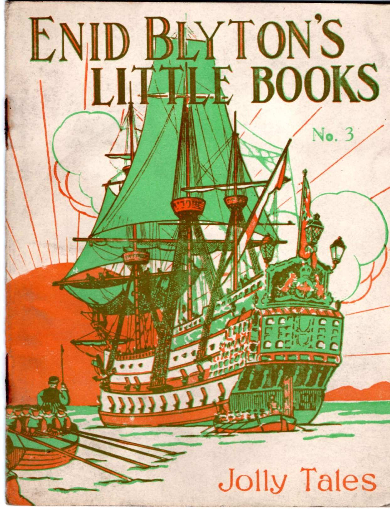 Image for Enid Blyton's Little Books No. 3: Jolly Tales
