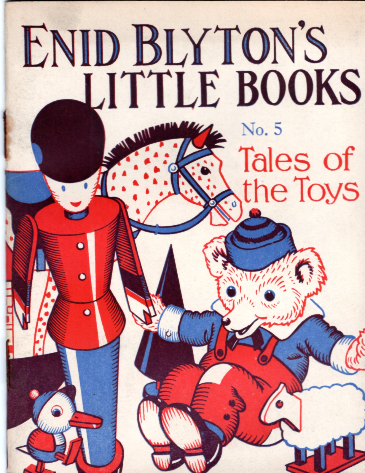 Image for Enid Blyton's Little Books No. 5: Tales of the Toys