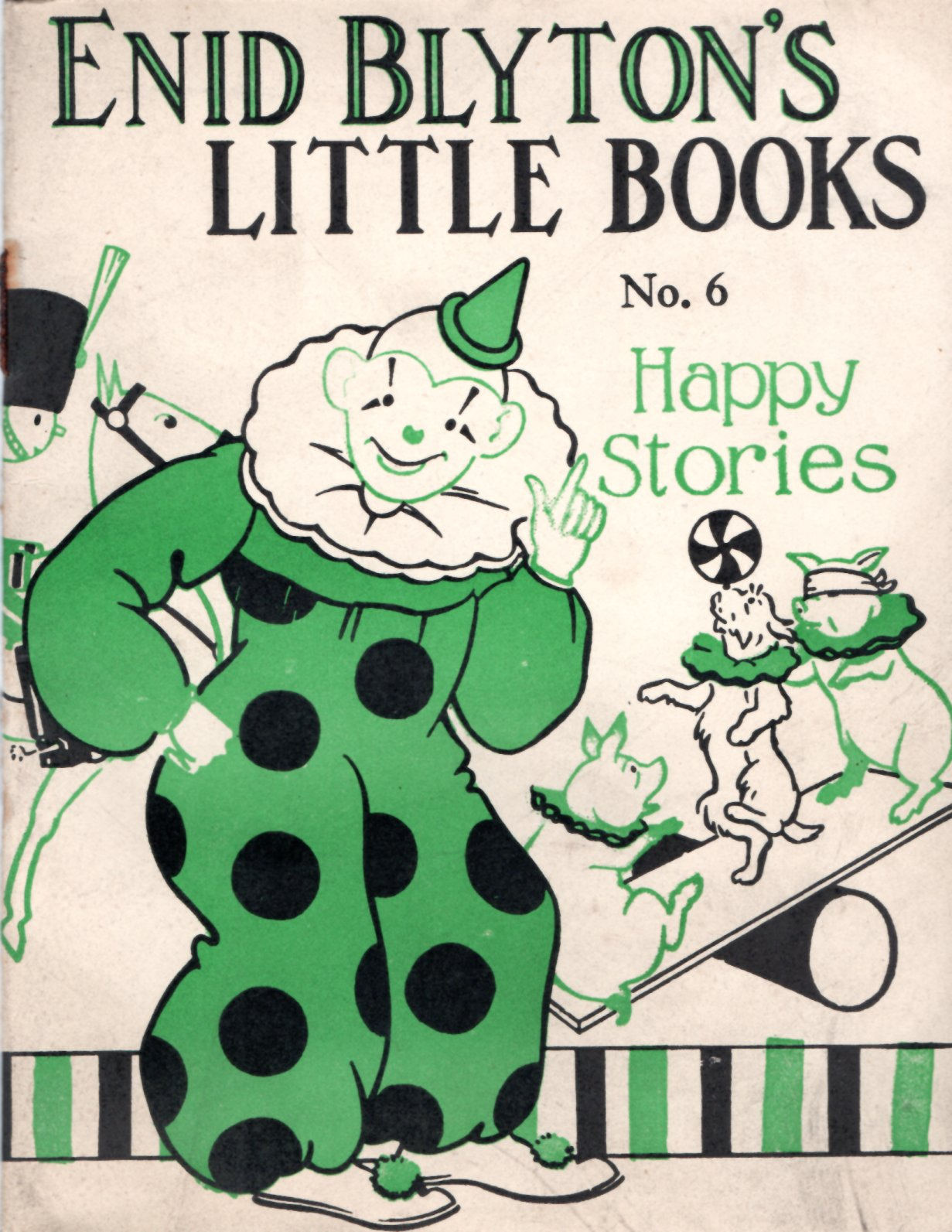 Image for Enid Blyton's Little Books No. 6: Happy Stories
