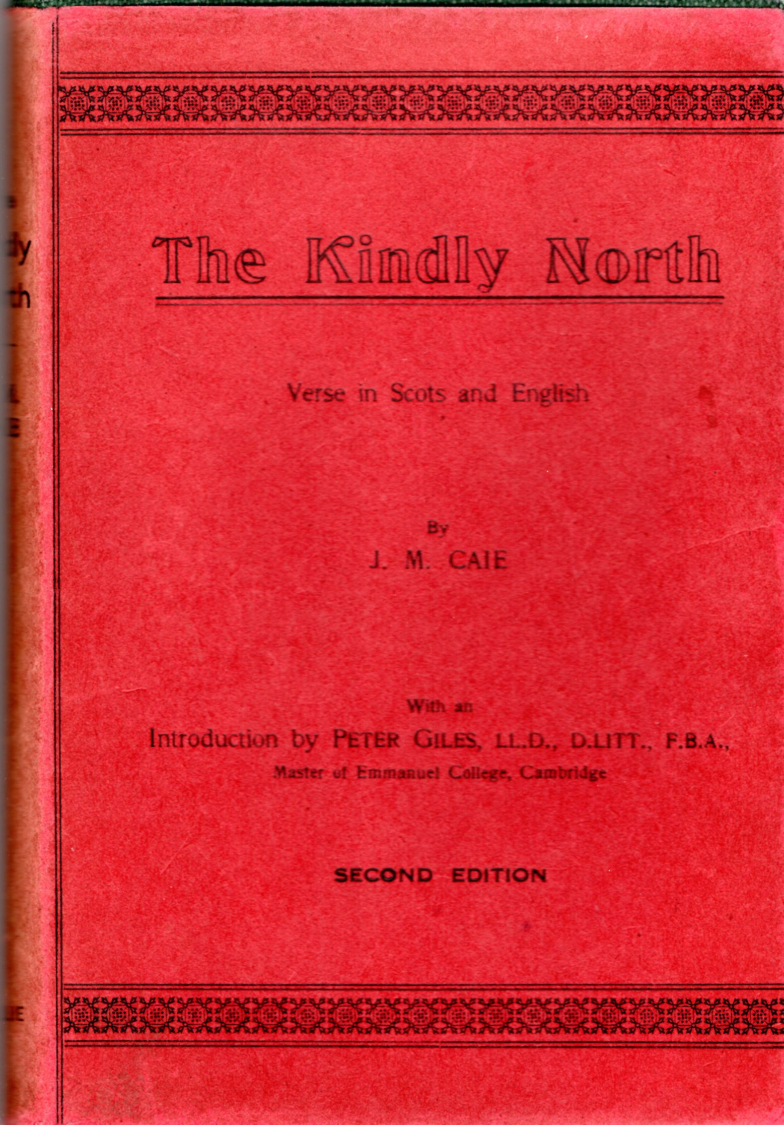Image for The Kindly North: Verse in Scots and English