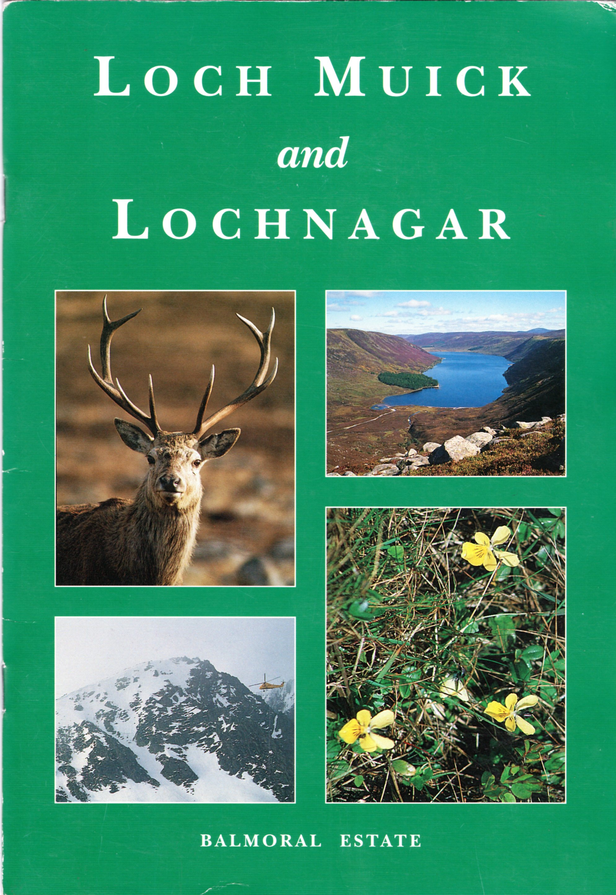 Image for Loch Muick and Lochnagar Wildlife Reserve Handbook.