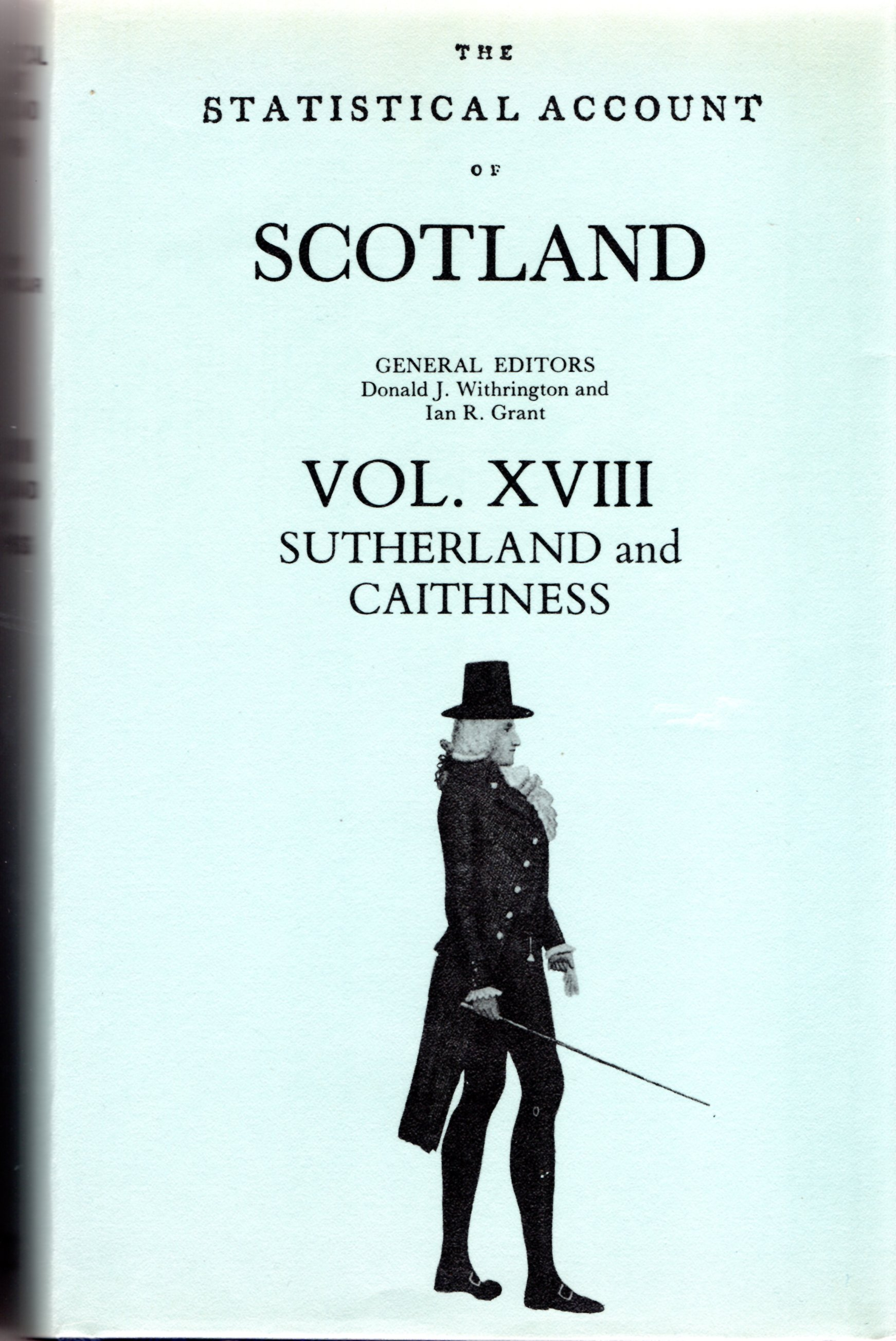 Image for Statistical Account of Scotland:Volume XVIII - Sutherland and Caithness Volume.