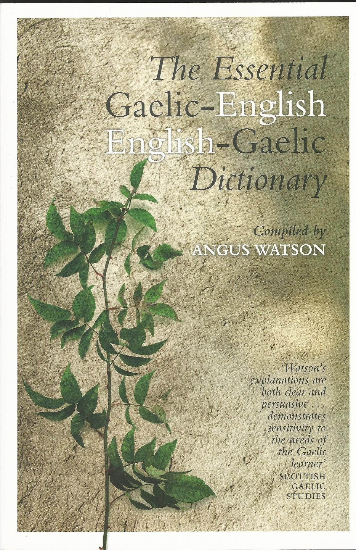 Image for The Essential Gaelic-English / English-Gaelic Dictionary