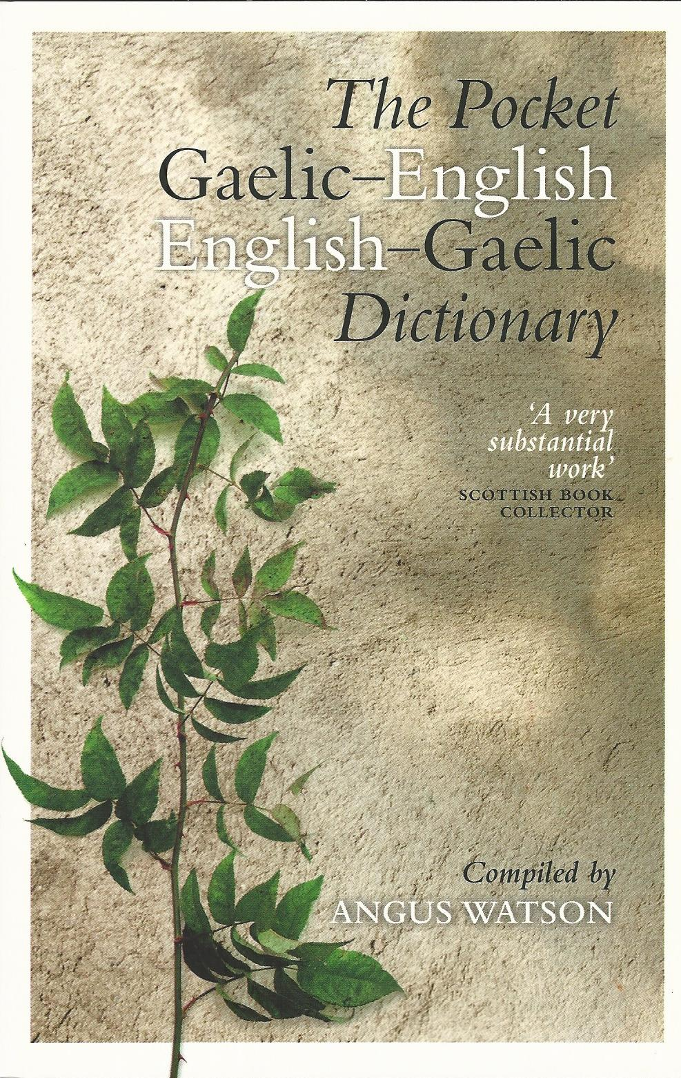 Image for The Pocket Gaelic-English English-Gaelic Dictionary