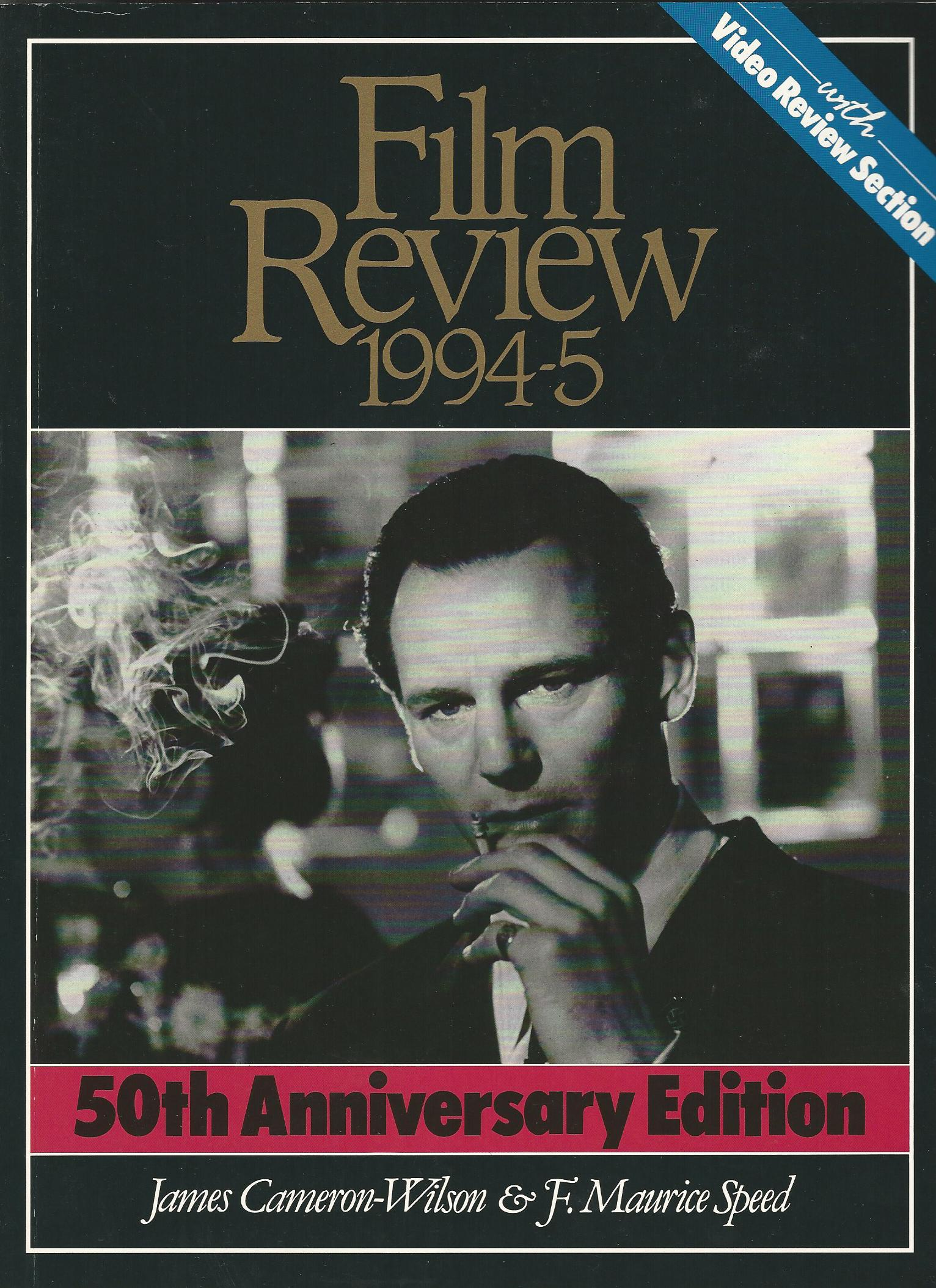 Image for Film Review 1994-5: Including Video Releases