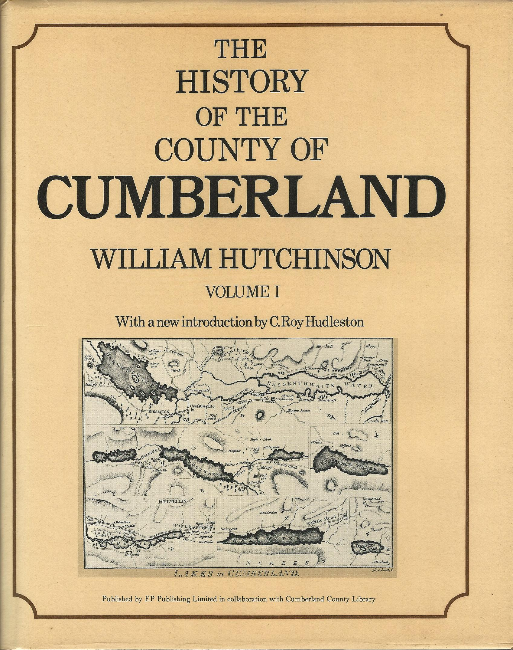 Image for The History of the County of Cumberland