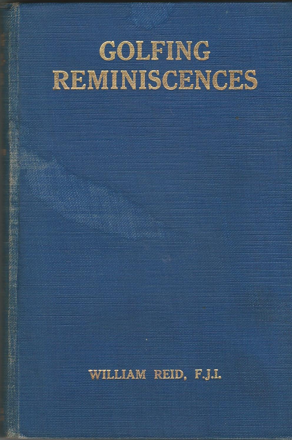 Image for Golfing Reminiscences