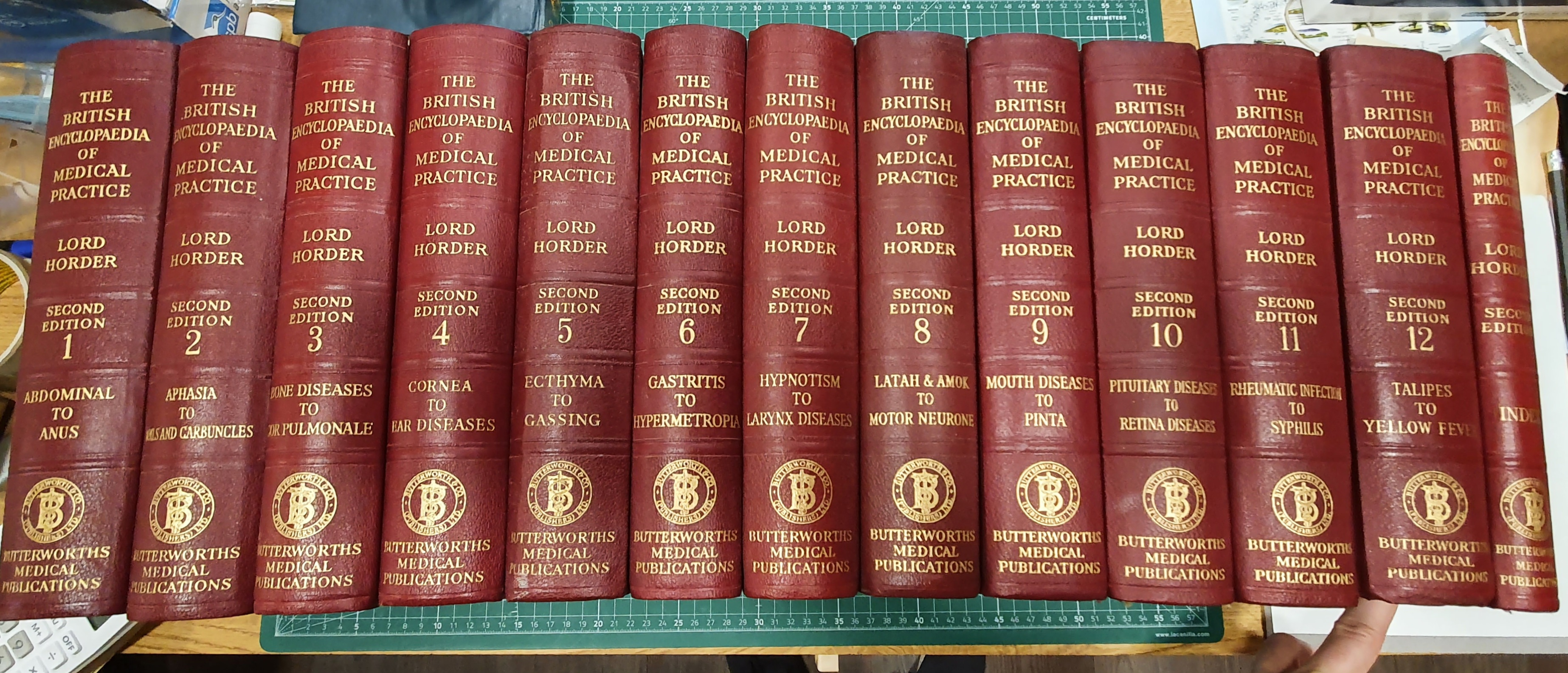 Image for The British Encyclopaedia of Medical Practice 12 Volumes plus Index Volume, Including Medical Progress Volumes 1951-1960 (23 Volumes in total)