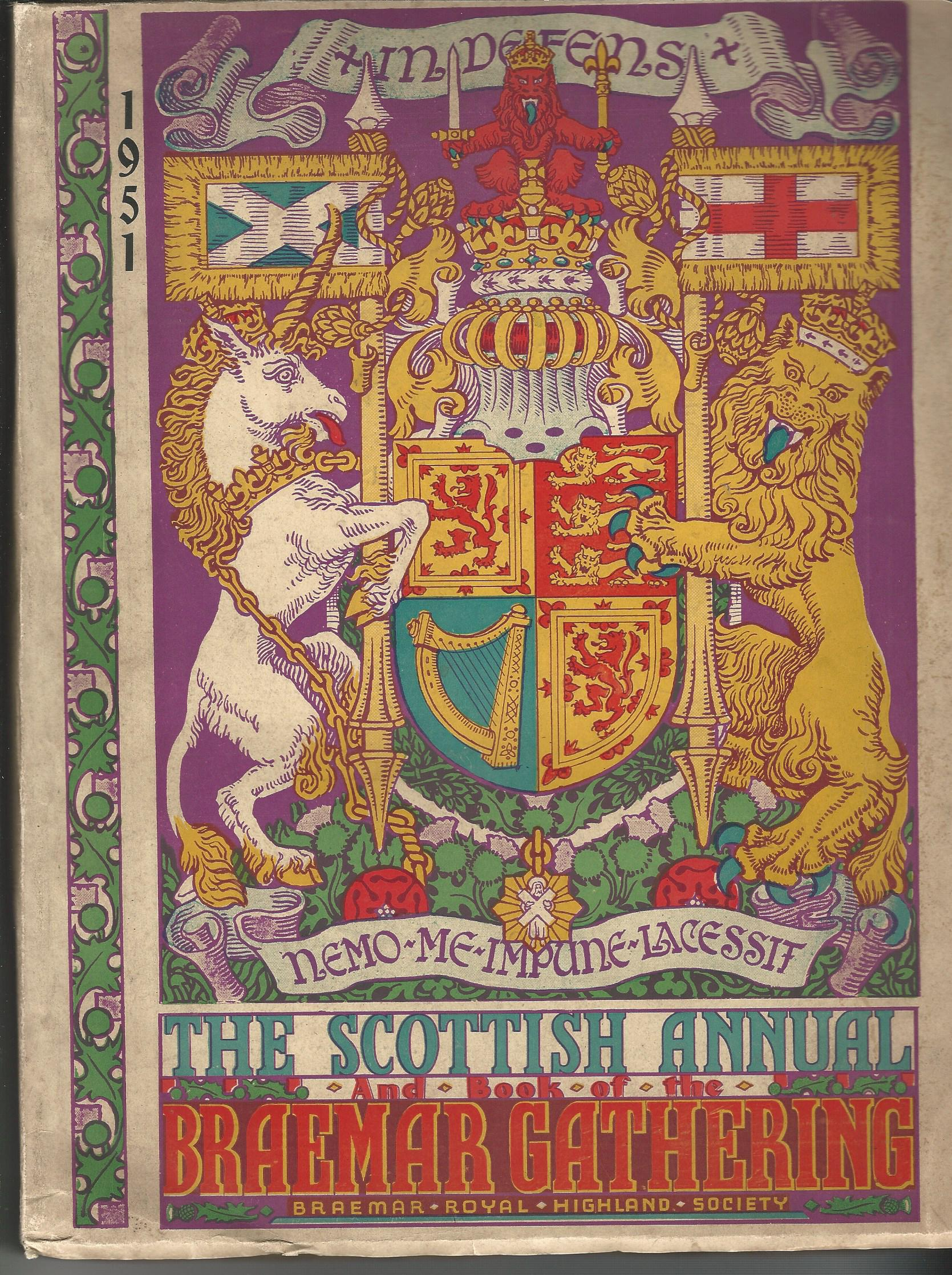 Image for The Scottish Annual and Book of the Braemar Gathering 1951.