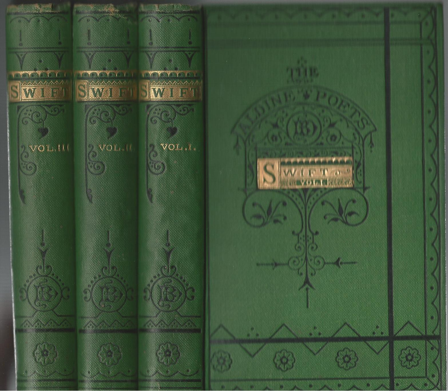 Image for The Poetical Works of Jonathan Swift in Three Volumes