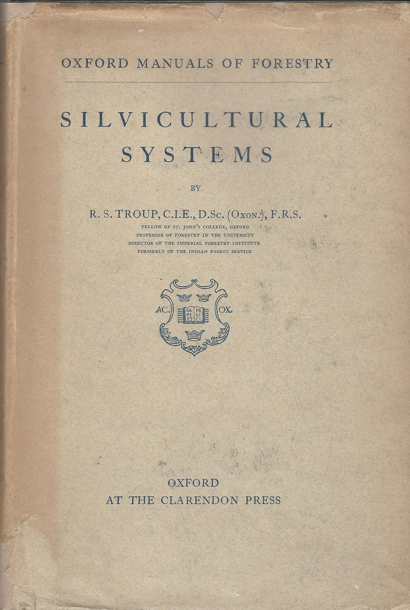 Image for Silvicultural Systems