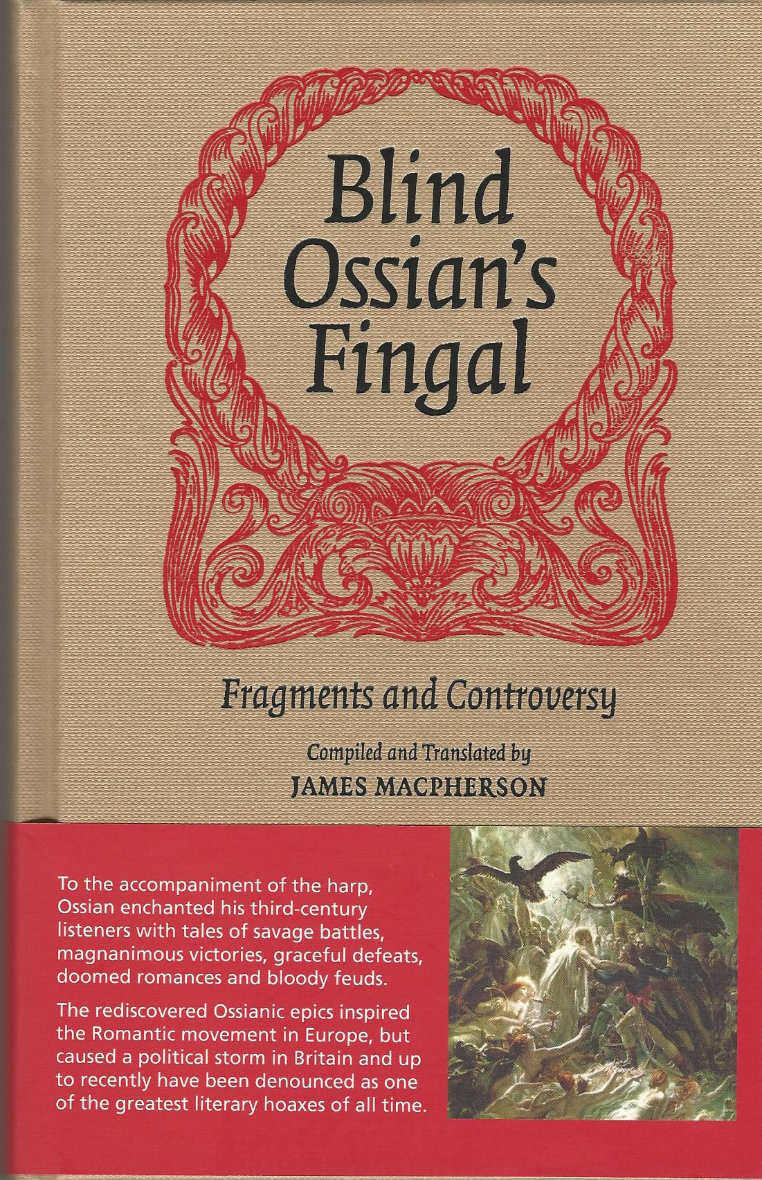 Image for Blind Ossian's Fingal: Fragments and Controversy