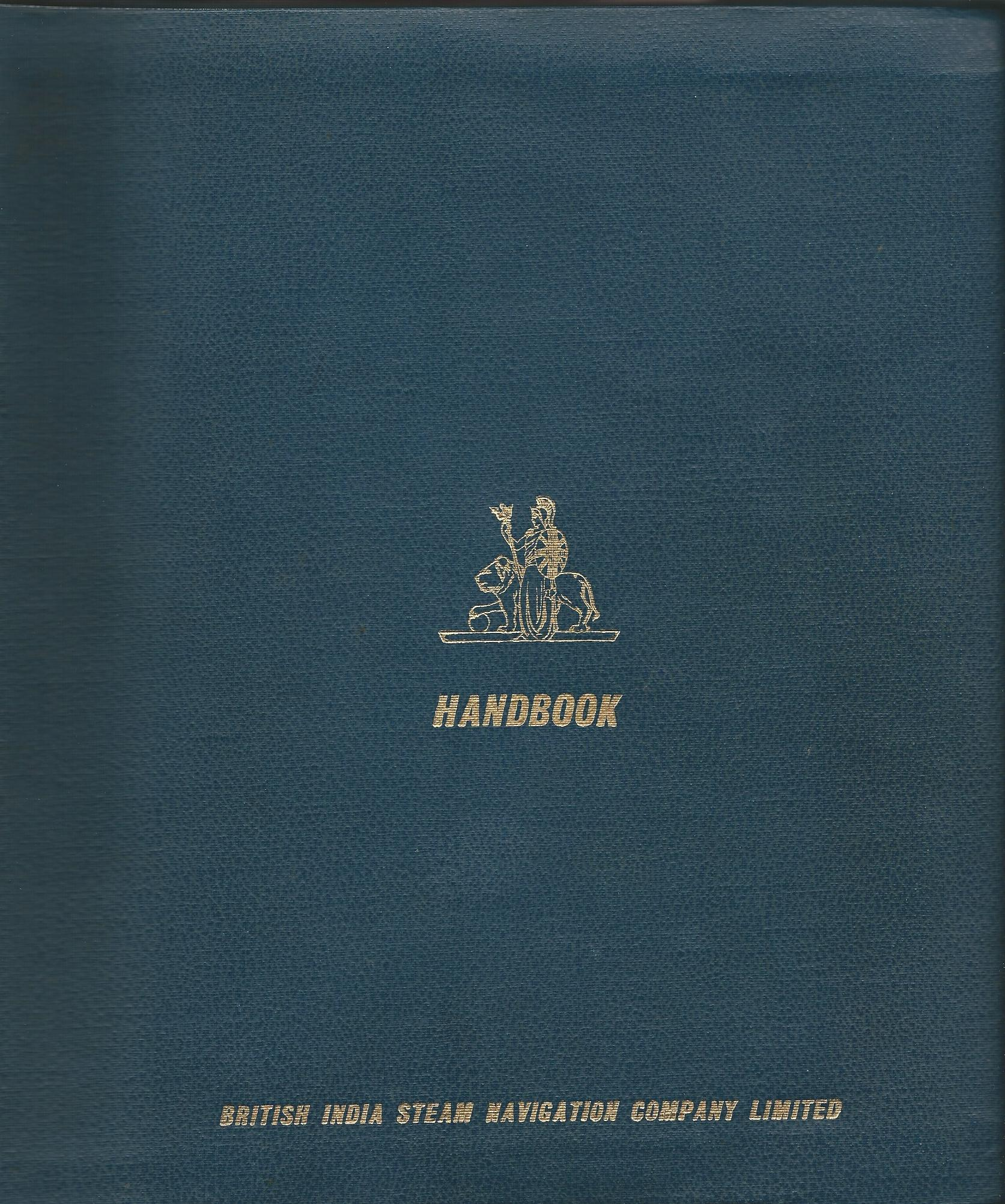 Image for British India Steam Navigation Company Limited: Handbook