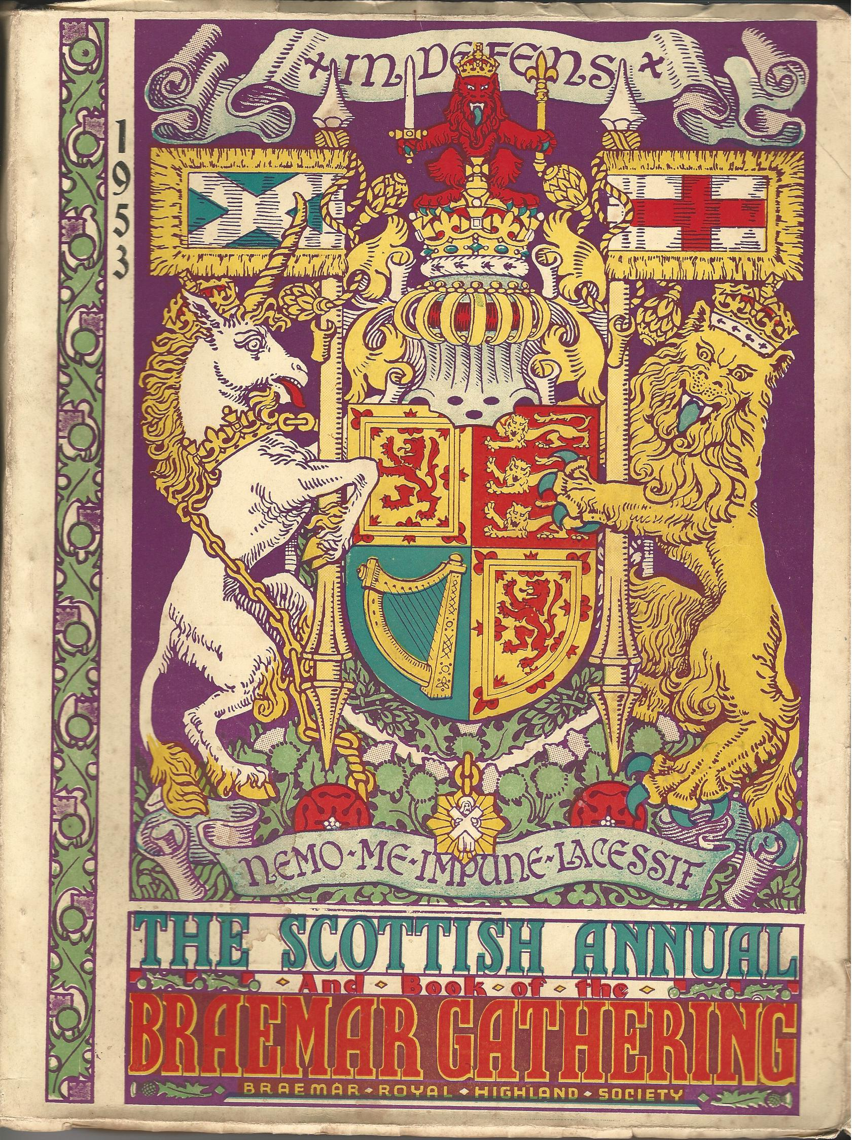Image for The Scottish Annual and Book of the Braemar Gathering  1953.