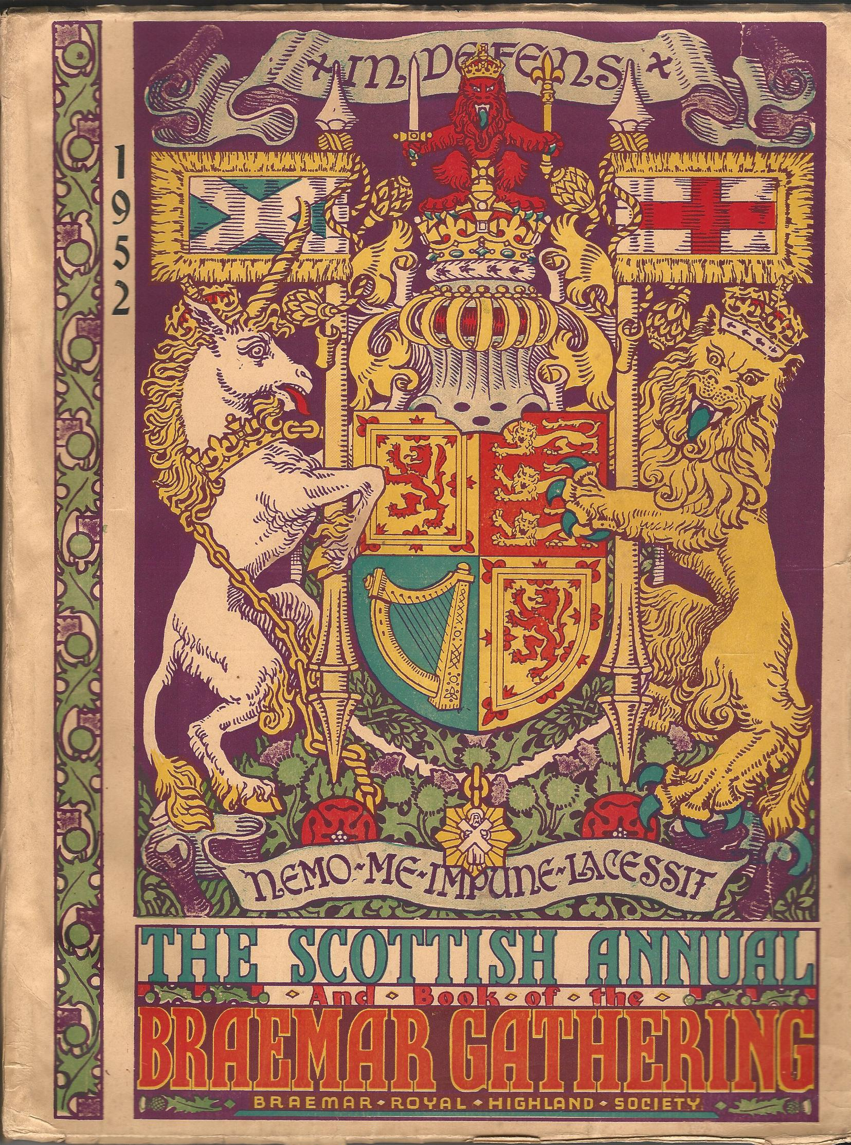 Image for The Scottish Annual and Book of the Braemar Gathering 1952