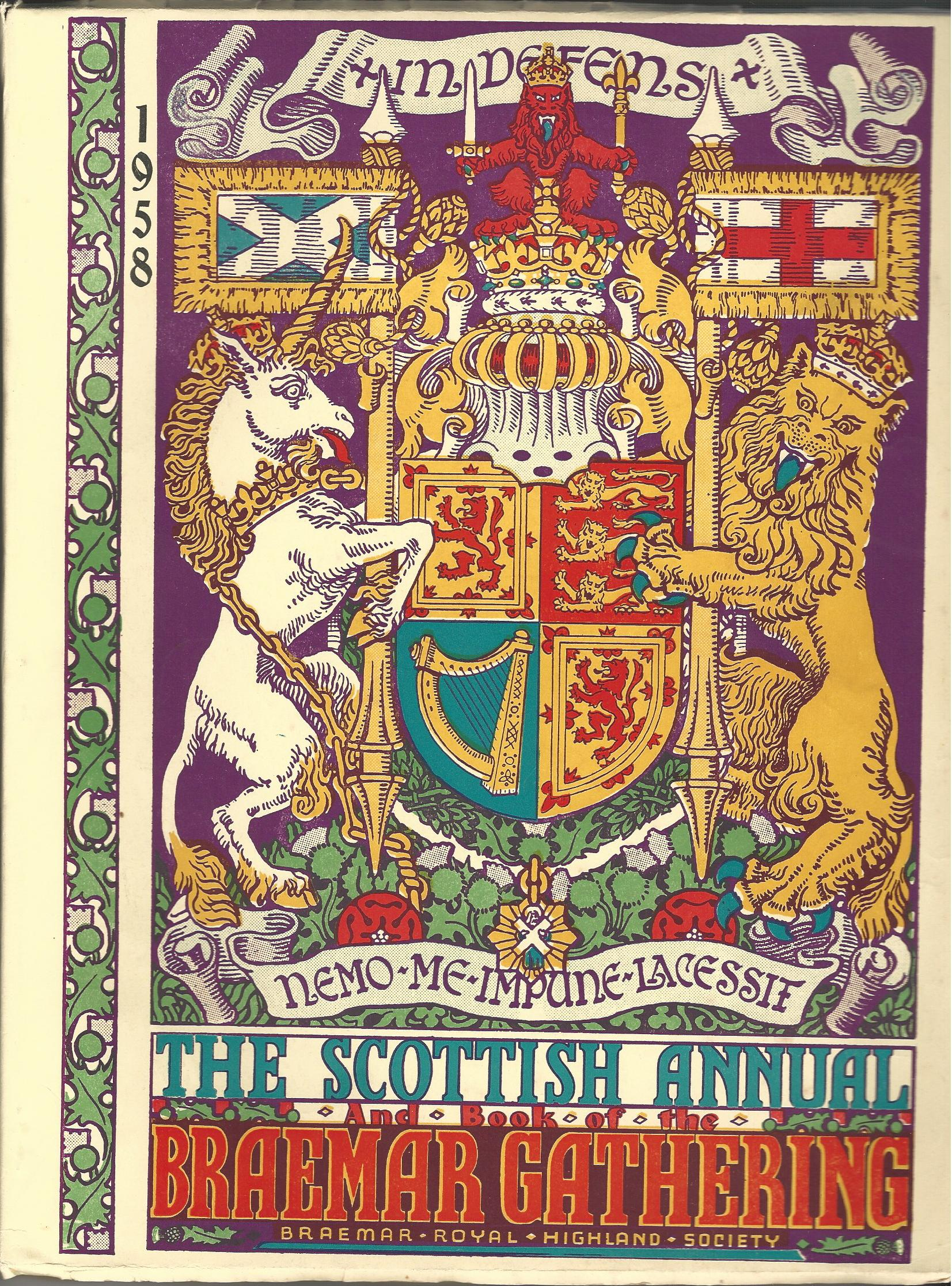 Image for The Scottish Annual and Book of the Braemar Gathering 1958