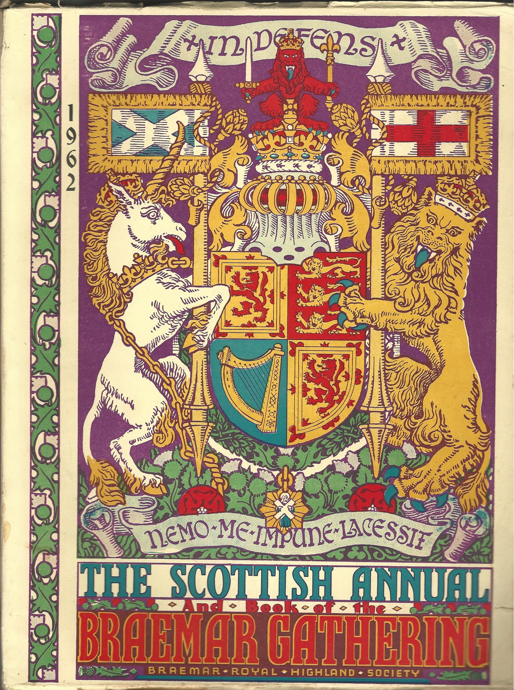 Image for The Scottish Annual and Book of the Braemar Gathering 1962