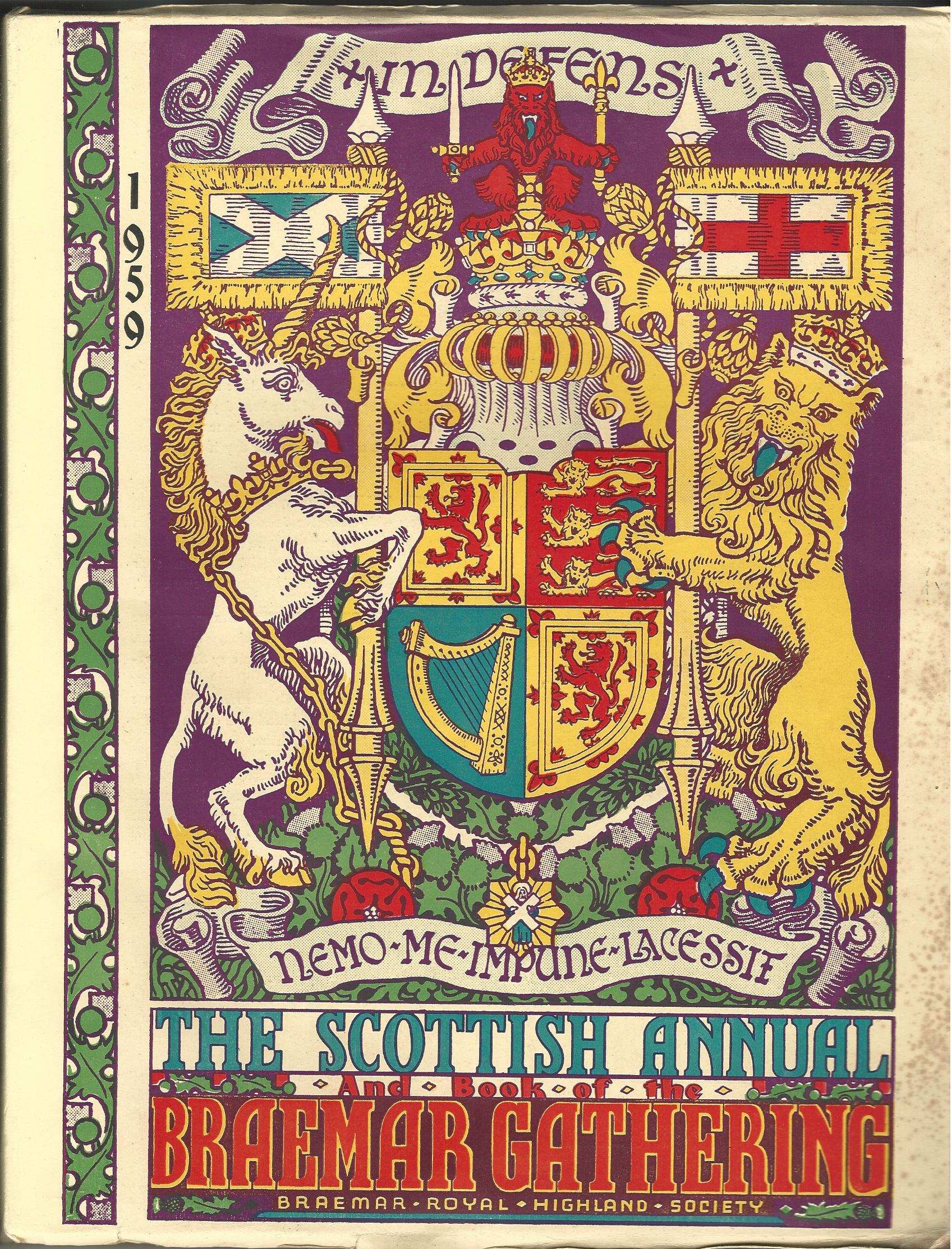 Image for The Scottish Annual and Book of the Braemar Gathering 1959