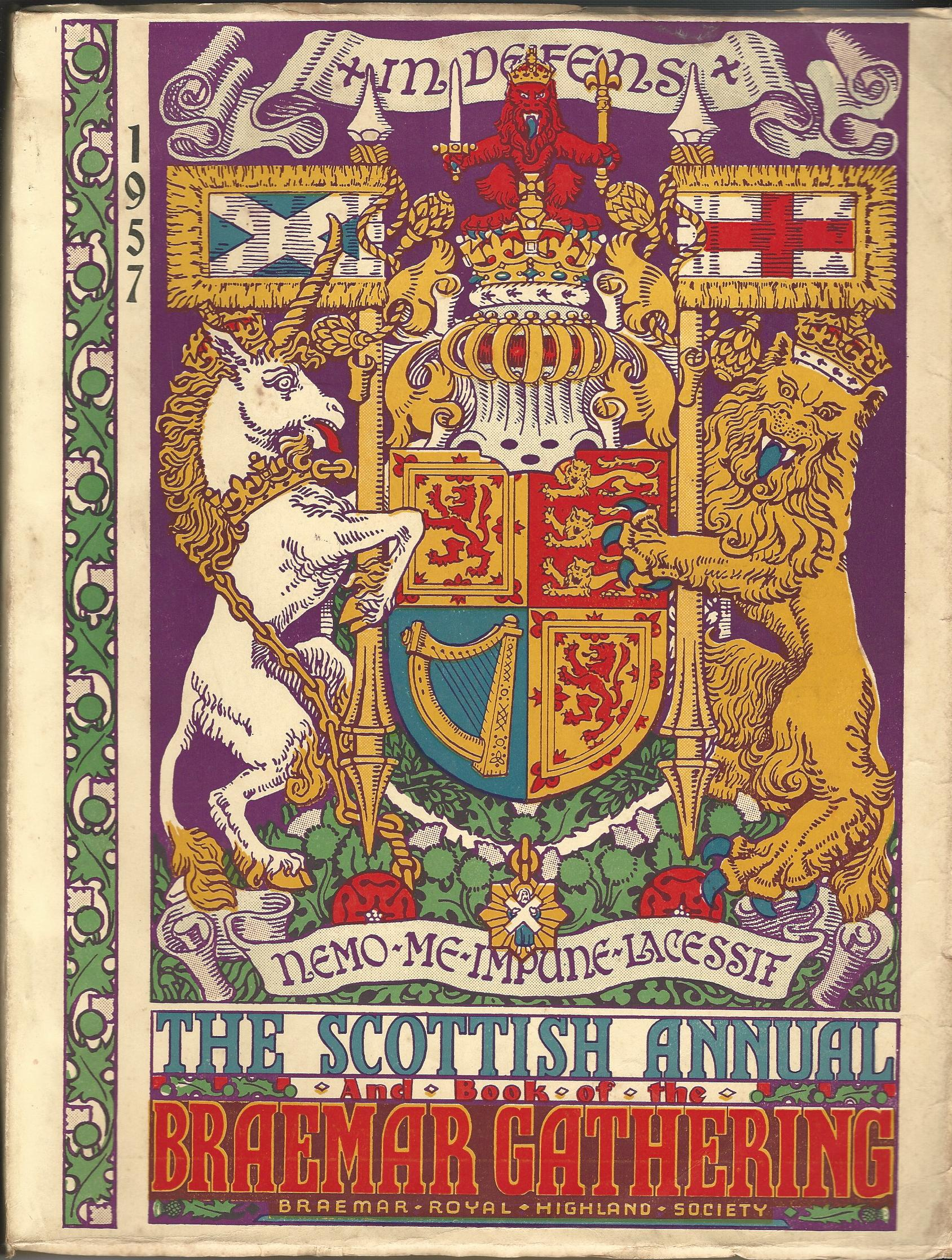 Image for The Scottish Annual and Book of the Braemar Gathering 1957
