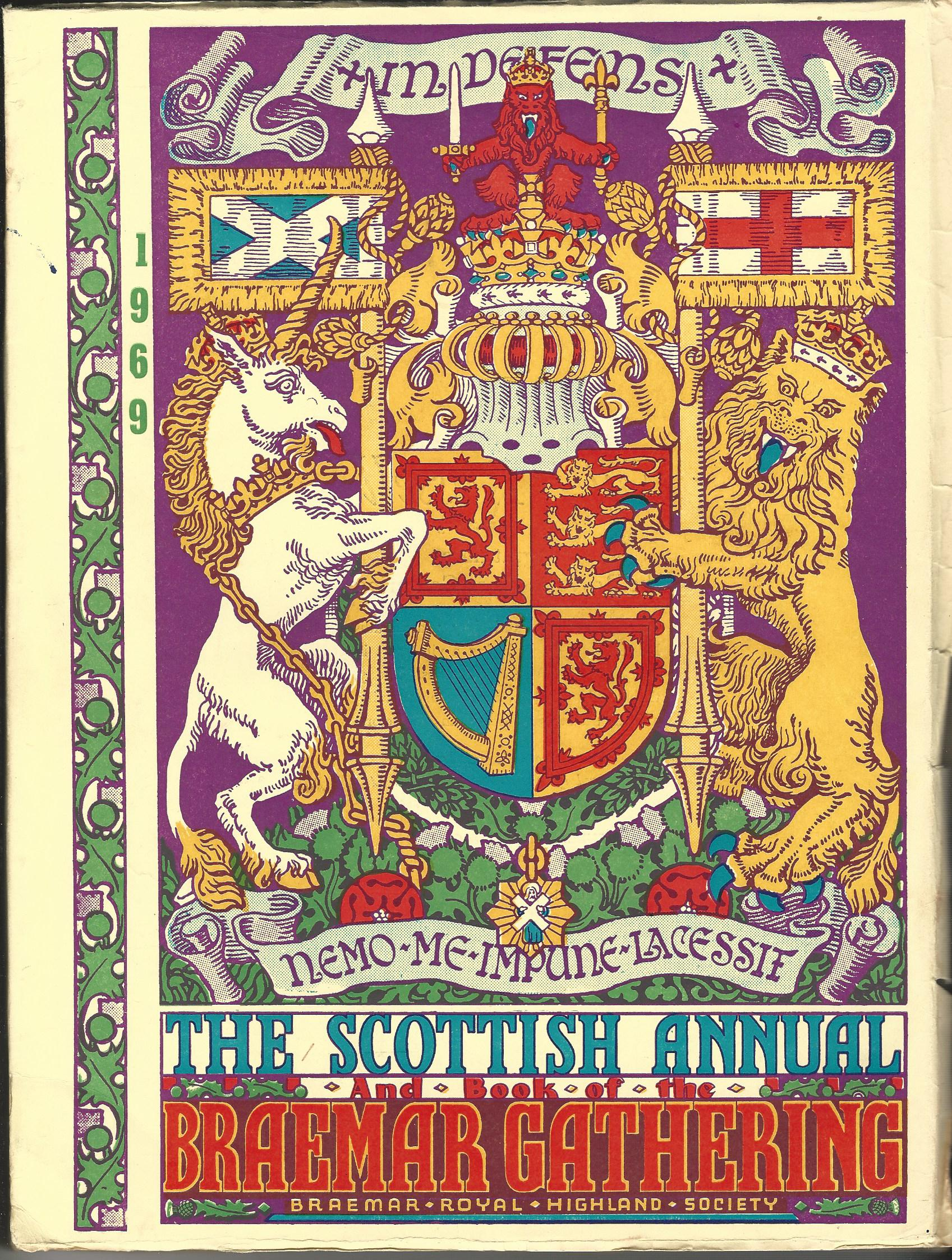 Image for Book of the Braemar Gathering 1969.