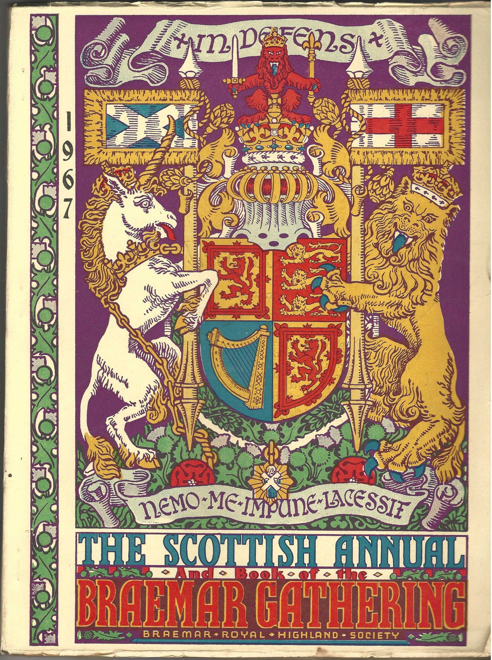 Image for Book of the Braemar Gathering 1967.