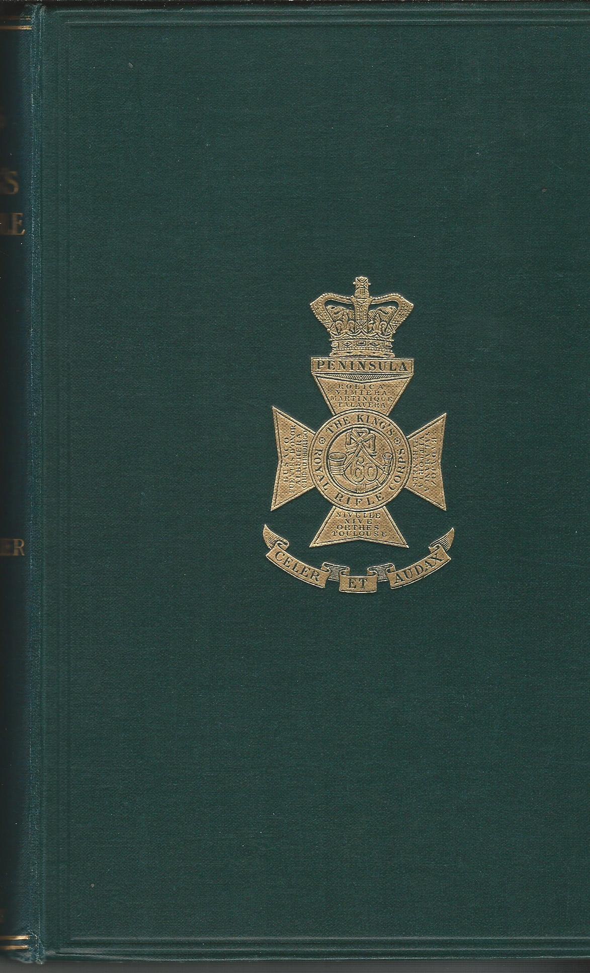 Image for The Annals of the King's Royal Rifle Corps. Vol III. The 60th: The KRRC.