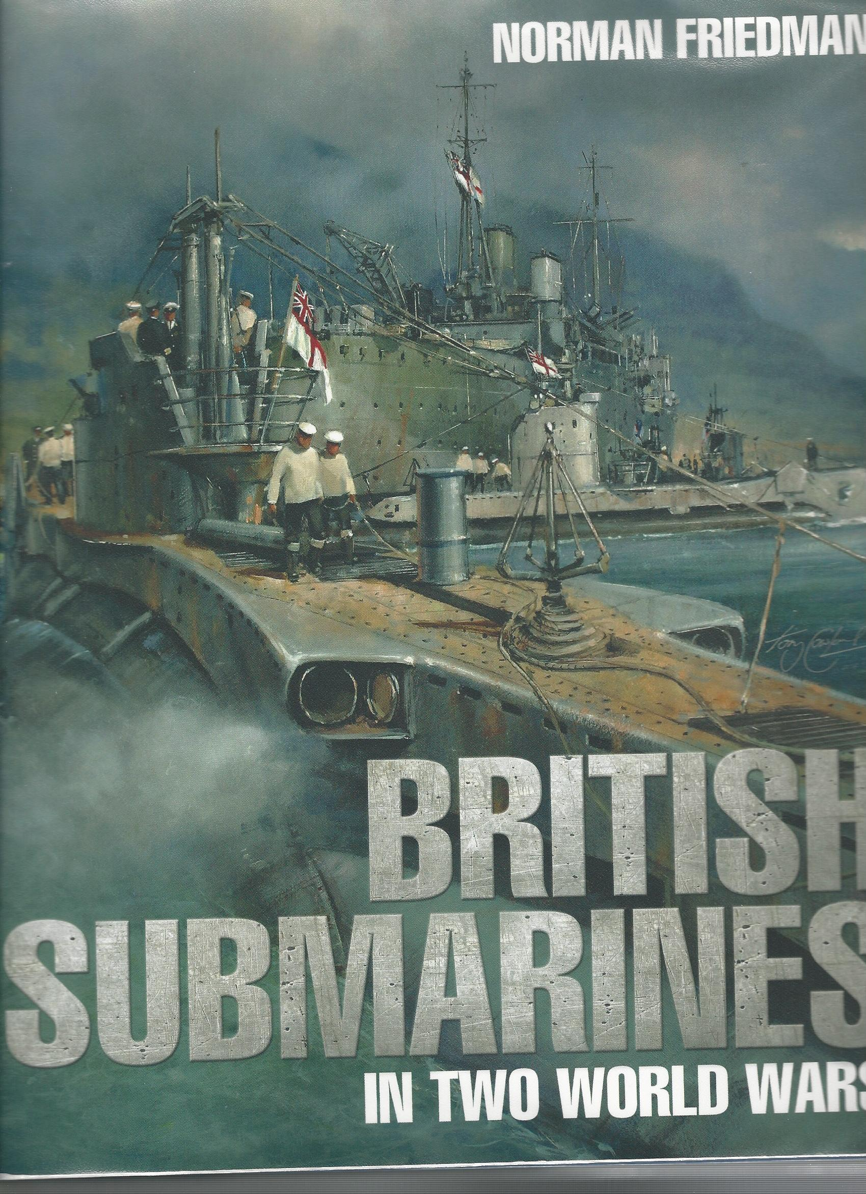 Image for British Submarines in Two World Wars.