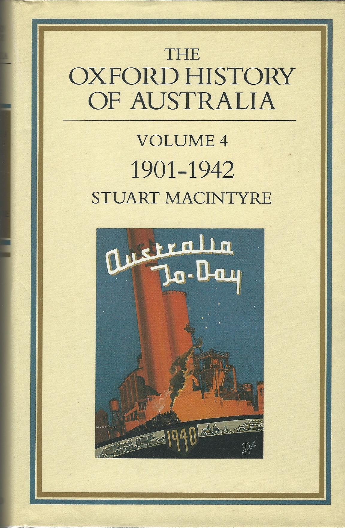 Image for The Oxford History of Australia: Volume 4 - 1901-42 - The Succeeding Age