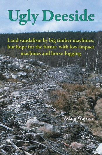 Image for Ugly Deeside: Land Vandalism by Big Timber Machines