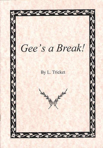 Image for Gee's a Break.