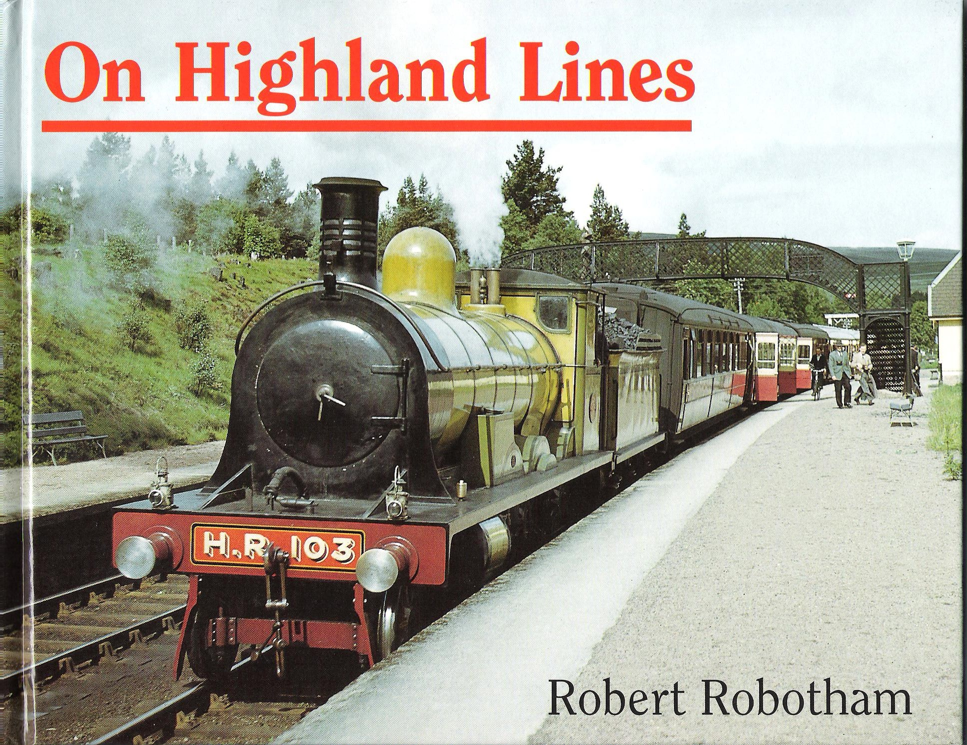 Image for On Highland Lines.