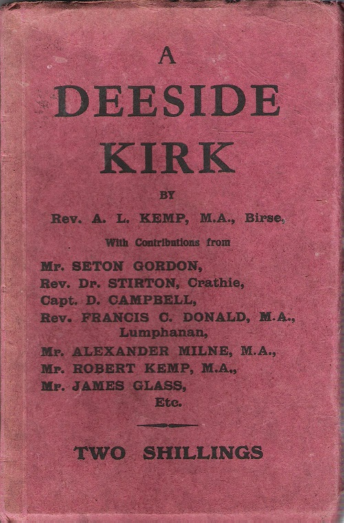 Image for A Deeside Kirk.