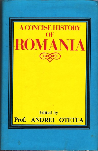 Image for A Concise History of Romania.