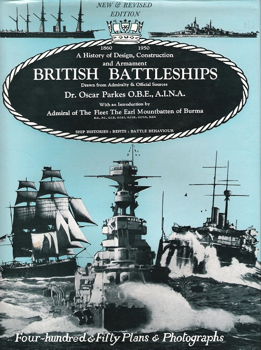 Image for British Battleships: A History of Design, Construction and Armament.