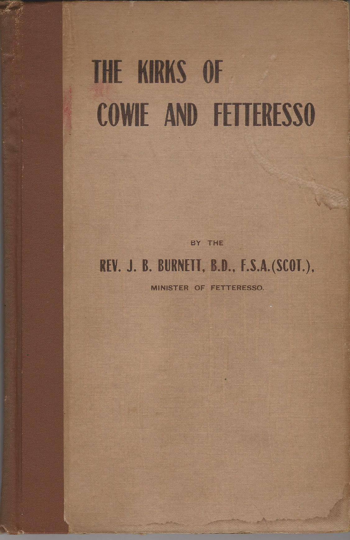 Image for The Kirks of Cowie and Fetteresso.