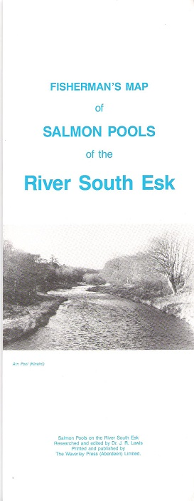 Image for Fisherman's Map of the Salmon Pools of the River South Esk.