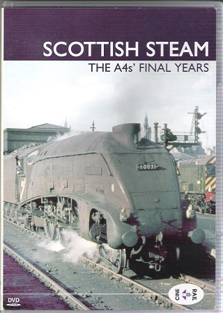 Image for Archive Series Volume 14 Scottish Steam: The A4's Final Years.
