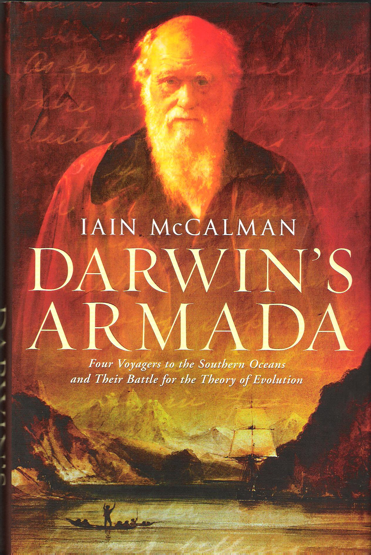 Image for Darwin's Armada: Four voyagers to the Southern Oceans and Their Battle for the Theory of Evolution.