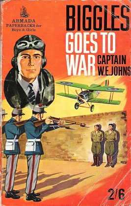 Image for Biggles Goes to War.