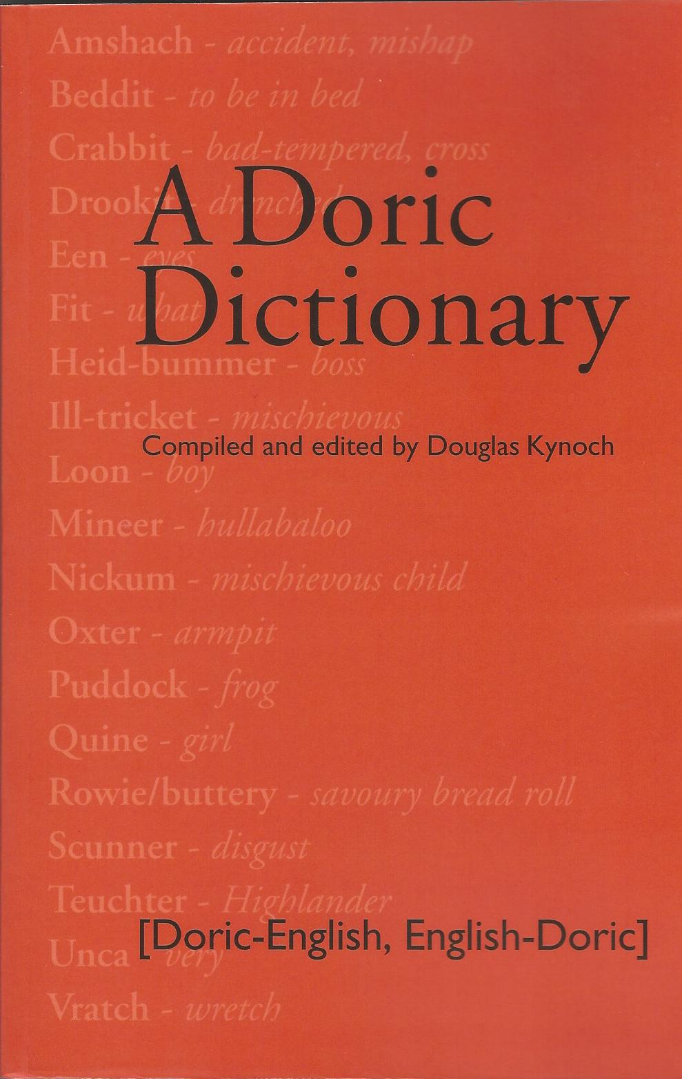 Image for A Doric Dictionary