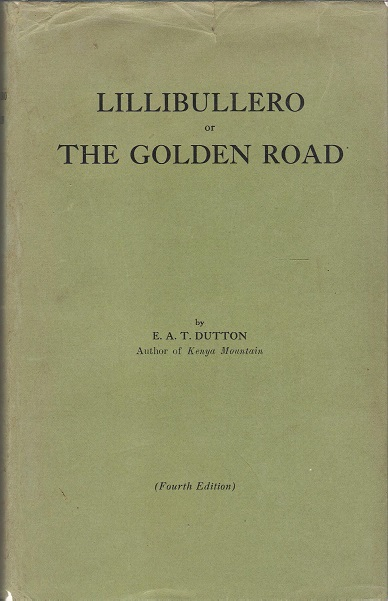Image for Lillibullero or The Golden Road.